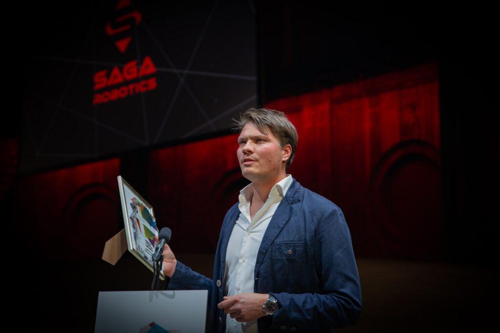 Pål Johan From, CEO of Saga Robotics __ Thorvald at The Start Up Awards