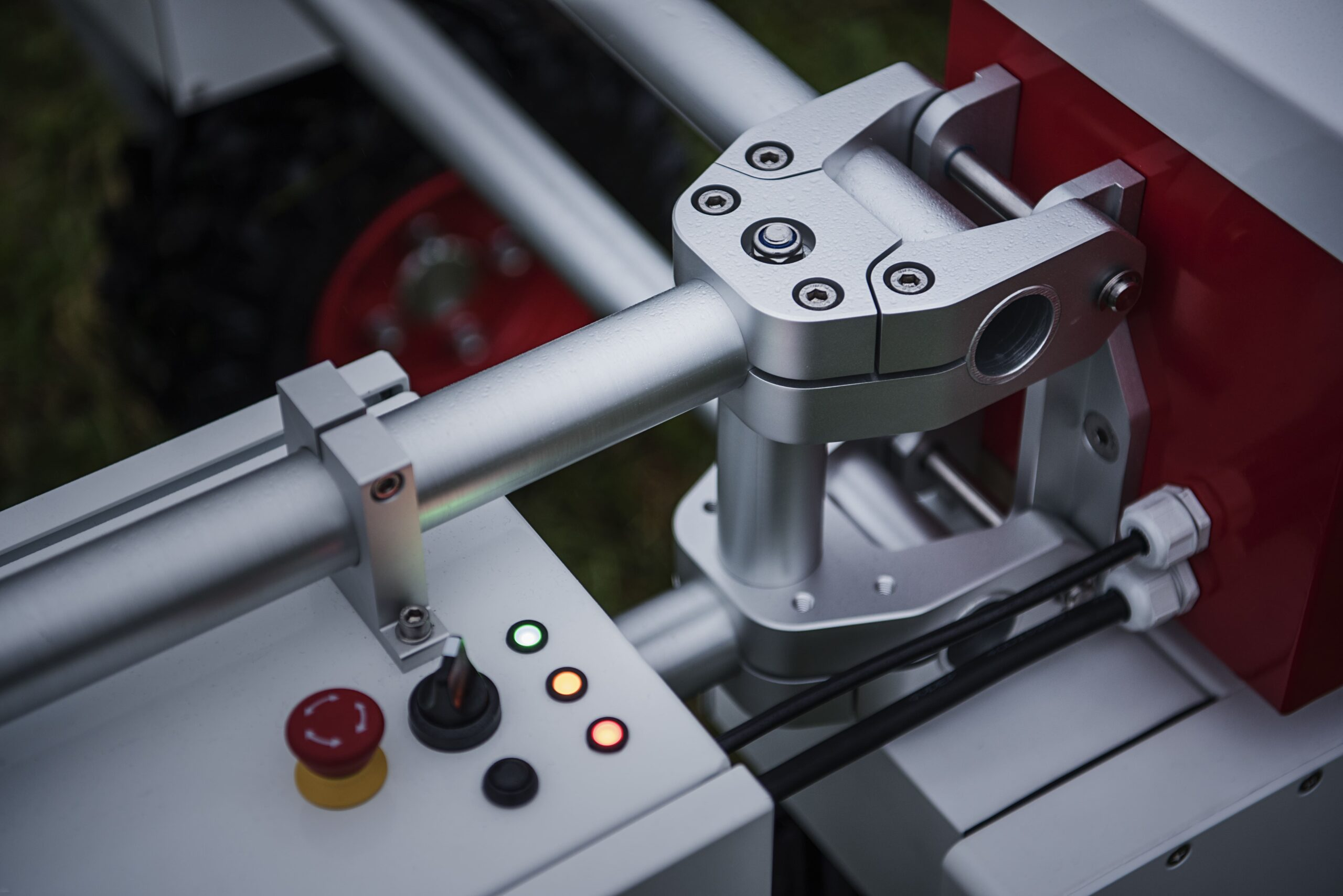 Thorvald agricultural robot close up